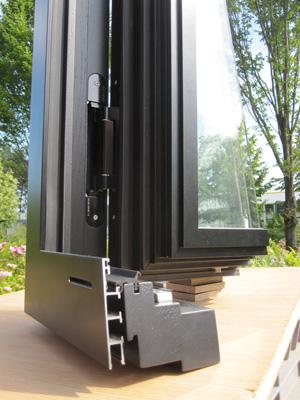 дерево алюминиевые окна