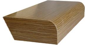 текстурный деревянный подоконник Тектонъ